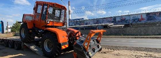 Трактор ХТА 208 1P Слобожанец с мульчером TFK 200