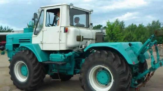 Легендарный советский трактор Т-150К