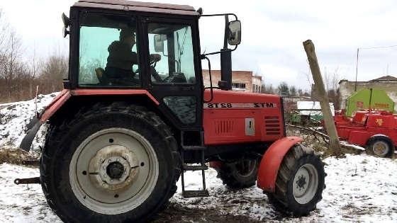 Экспортный вариант Трактора МТЗ 892