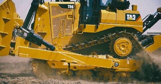 Новый бульдозер Cat D9T