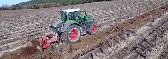 Корчеватель для садов и виноградников GRENIER FRANCO