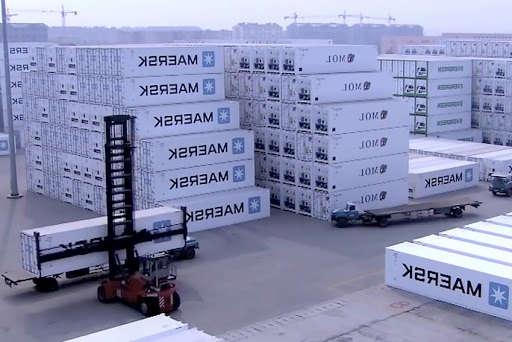 Так производятся контейнеры Maersk