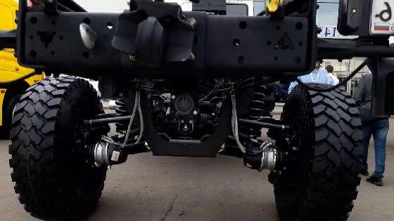 Камаз 43502 с подвеской ROSTAR