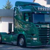 SCANIA R580 V8