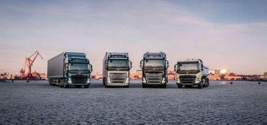 новая линейка грузовиков Volvo Trucks