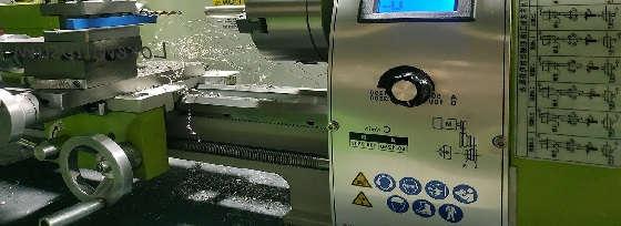Токарный станок WM 210V из Китая