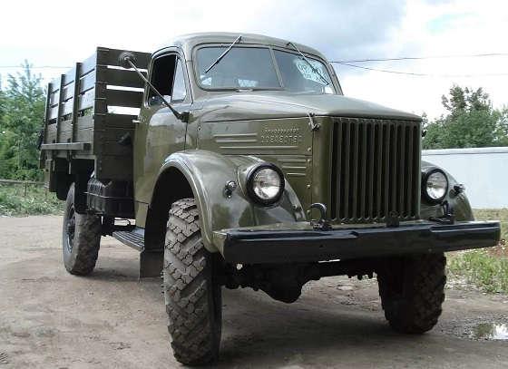 Зачем переворачивали колеса на ГАЗ-63?