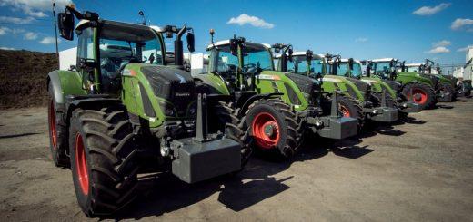 Импорт тракторов в РФ