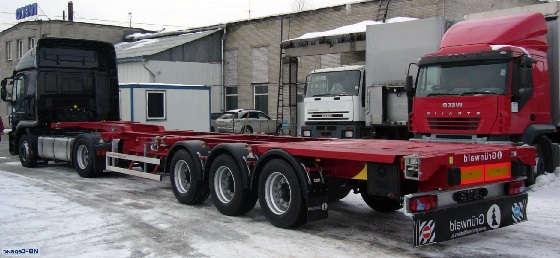 Полуприцеп контейнеровоз 50 тонн