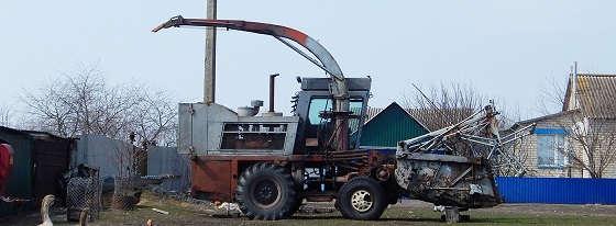 комбайн КСК-100
