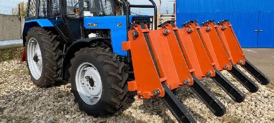 Лесной трактор Беларус 82.1