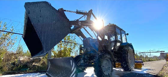 Как помыть трактор Беларус 82?