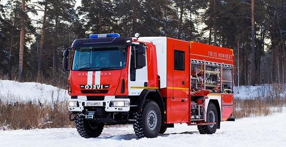 Пожарные машины Ивеко