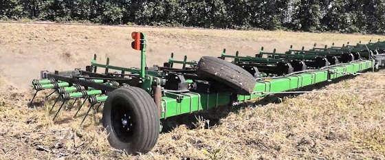 Трактор Кировец: Посев озимых