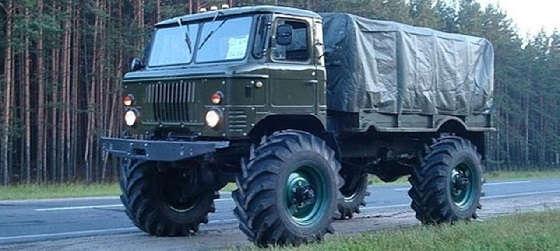 Прокаченный ГАЗ 66