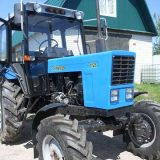 Сборка лесного трактора Беларус-82.1