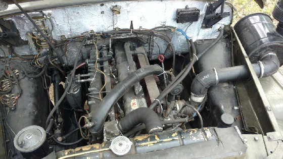 Зил 131 с двигателем MAN
