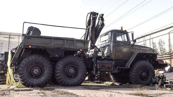 Урал 4320 МТП: Модернизация задней тележки