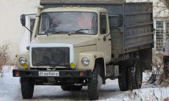 САМОСВАЛ ГАЗ 4509