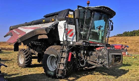 Торум 785: Подготовка к уборке кукурузы