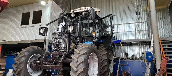 Установка кондиционера на трактор Беларус МУЛ-82.2
