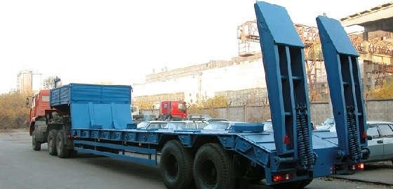современные прицепы для перевозки тяжелых грузов