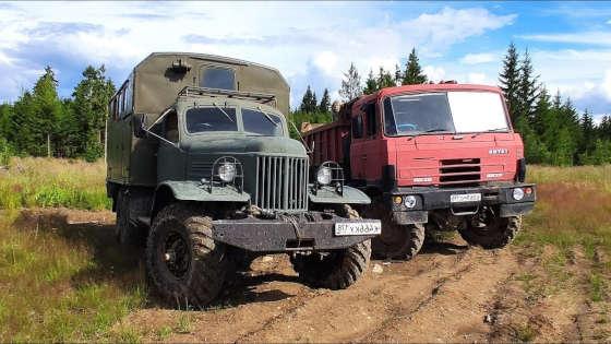 ЗИЛ-157 против TATRA-815