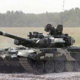 Т-80 на скорости 80