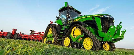 гусеничный трактор John Deere 8RX