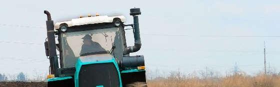 Трактор ХТЗ-242К и Оборотный плуг PON5