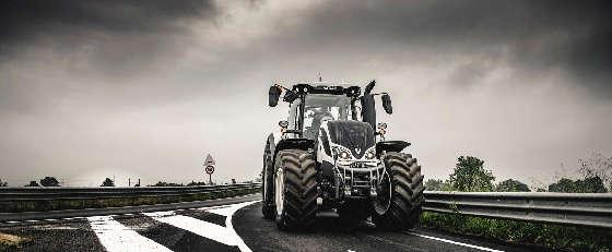 Управление трактором Valtra S374