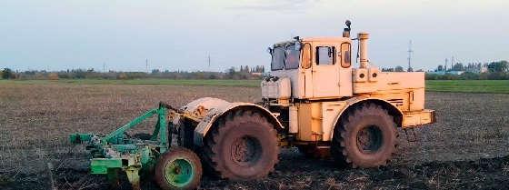 К-701 с глубокорыхлителем