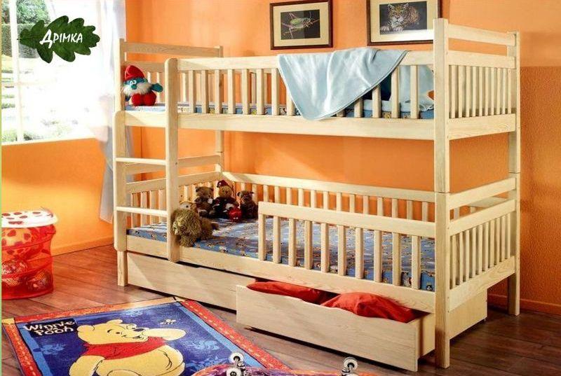 Двухъярусная кровать Сашка