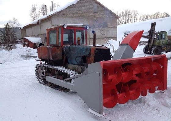 снегоочиститель для тракторов
