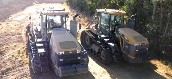Трактор CHALLENGER MT875E
