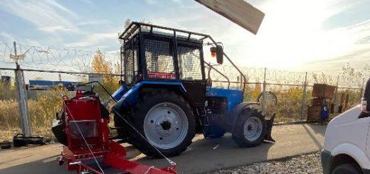 Запуск в работу финского дровокола JAPA 365
