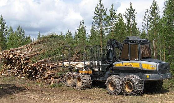 Лесозаготовительные машины Ponsse
