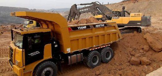 Sany Mining Truck SKT90S