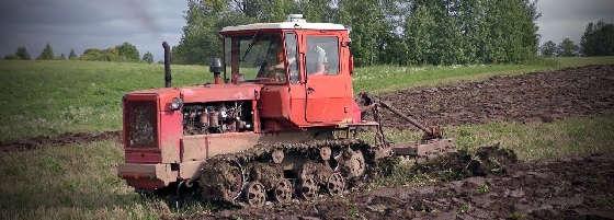 гусеничный трактор ДТ-75
