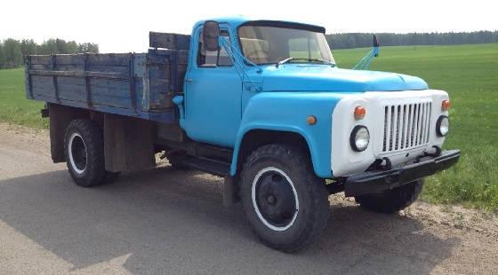 волговская панель на ГАЗ 53
