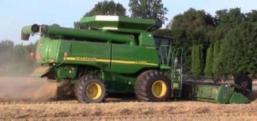 мощные зерноуборочные комбайны