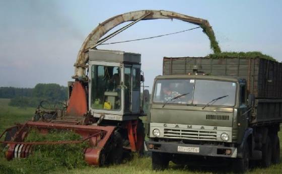 Комбайн КСК-100А-3: заготовка кормов