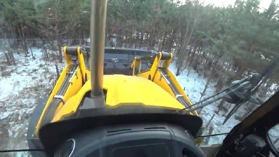 Разогрев гидравлики в мороз на тракторе