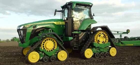 Трактор JOHN DEERE 8RX410