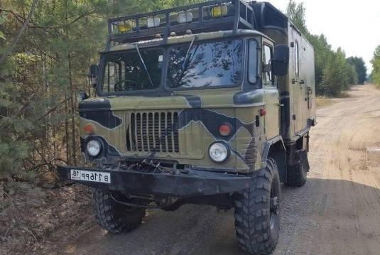 ГАЗ-66 с дизельным двигателем IVECO