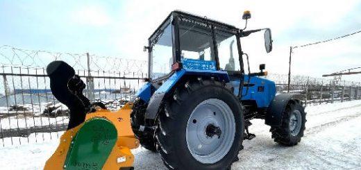 трактор Беларус-1221.3 с гидроходоуменьшителем