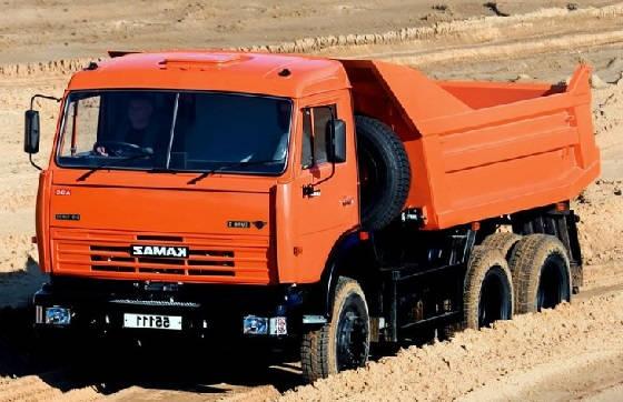Новые КамАЗ 5511