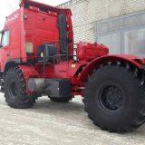 трактор К 700 Кировец с кабиной от грузовика Volvo