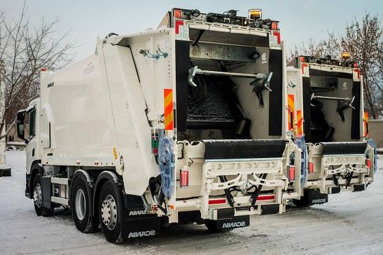 современные мусоровозы