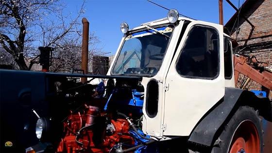 трактор ЮМЗ-6 с двигателем Д-243